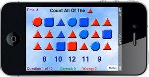 Kindergarten Counting Screen