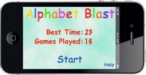 Alphabet Blast Homepage