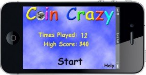Coin Crazy Home Screen