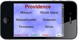State Capitals Screen