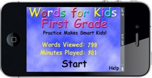 Words For 1st Grade Home Screen